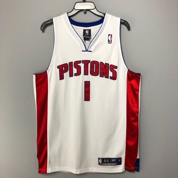Detroit Pistons Reebok Chauncey Billups Jersey 44.  M 5c50ba7ea5d7c6cb87a73806 2cac8da9c